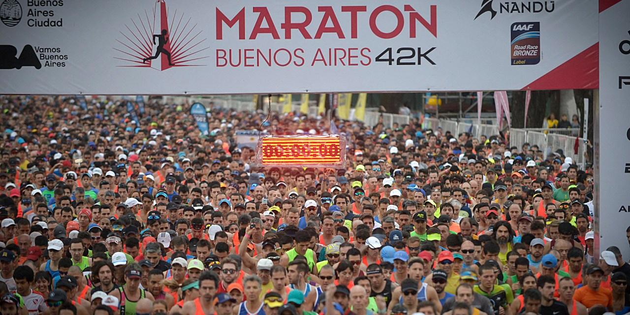 Por qué y cómo corrí el maratón de Buenos Aires
