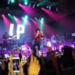Un concierto de LP en el teatro Vorterix de Buenos Aires y una selfi