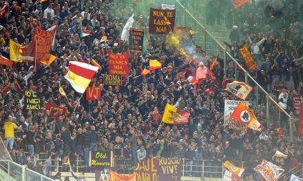 Hinchas de la Roma para siempre. La gran historia de la pasión giallorossa. Edición de Luca Pelosi