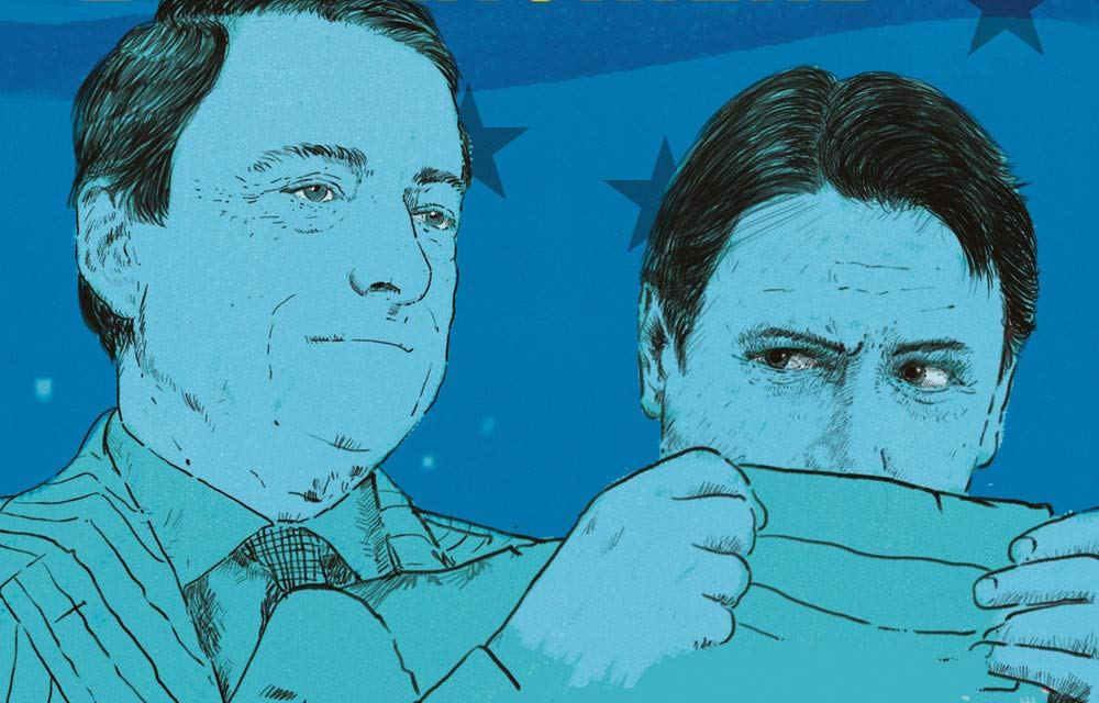 El abogado y el banquero, o como entender la política italiana de estos últimos tiempos