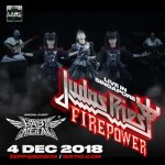 JUDAS PRIEST Firepower World Tour with Special Guests BABYMETAL