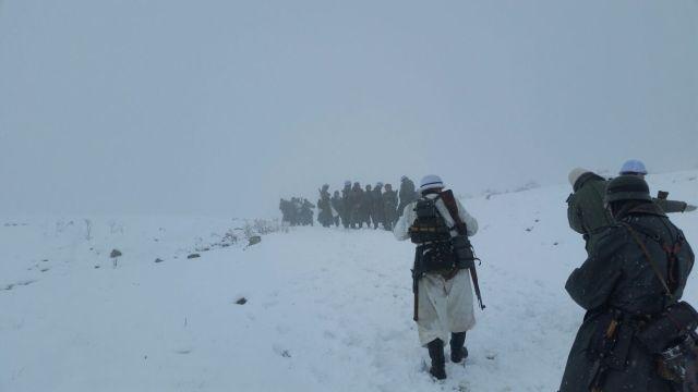 Recuerdos en la nieve (III): Ventisca.