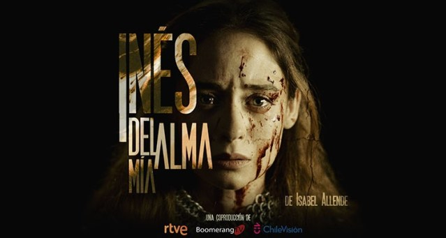 """La serie: """"Inés del alma mía""""."""