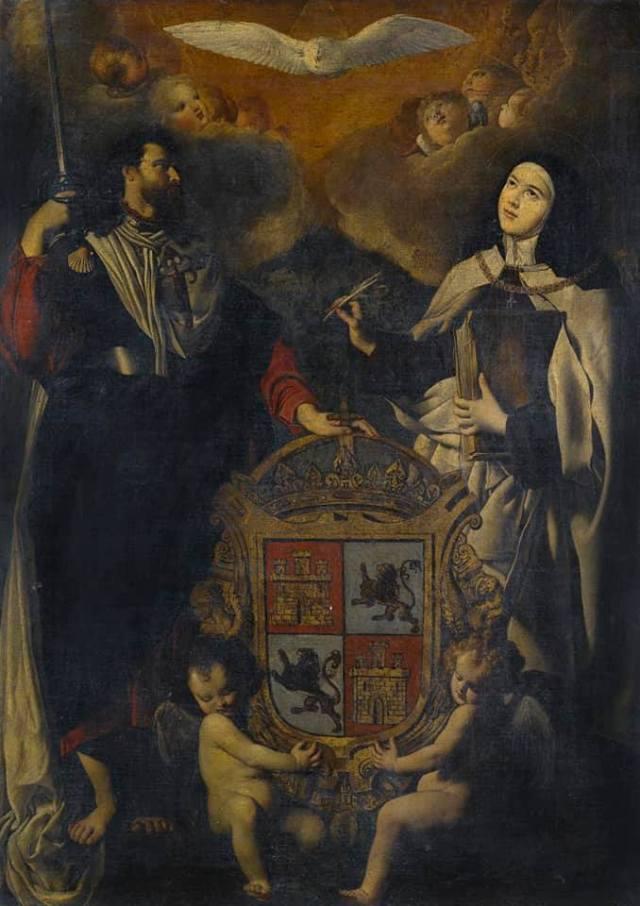 Quevedo, al rey las cosas claras y Santiago patrón de España.