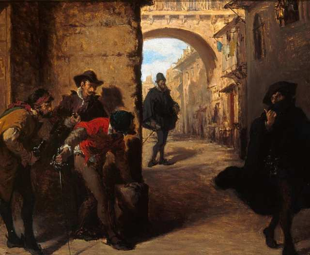 Madrid, villa y corte de la delincuencia en tiempos de Felipe II