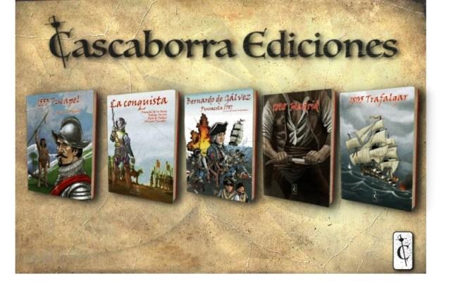 """Julián Olivares, director de """"Cascaborra Ediciones"""": """"Muchos profesores de Historia usan nuestros cómics en clase""""."""
