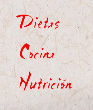 Dietas, cocina y nutrición