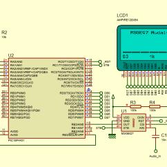 Audio Spectrum Analyzer Circuit Diagram Cat 5b Wiring Libstock Glcd Msgeq7 Audalyzer Schematic