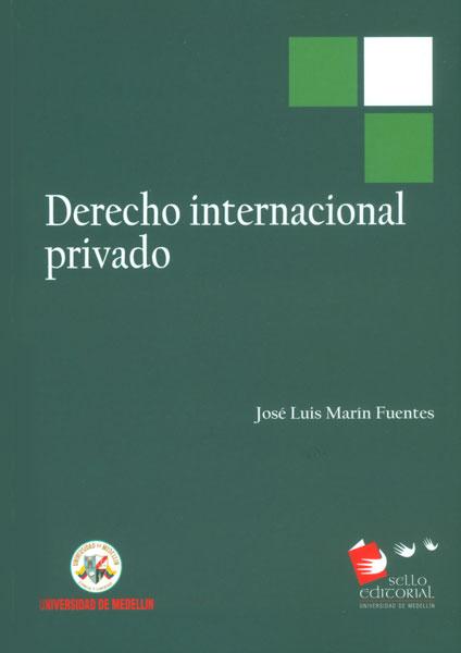 Resultado de imagen para Derecho Internacional Privado Jose luis Marin