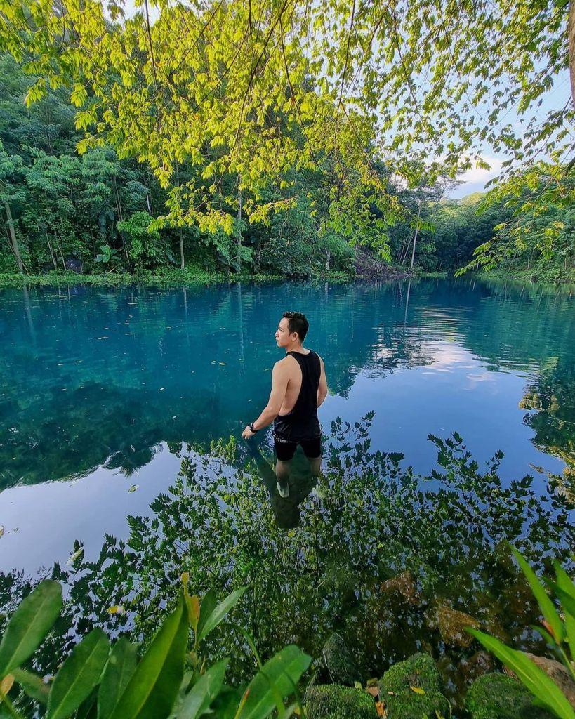 Talaga Nila Danau Biru