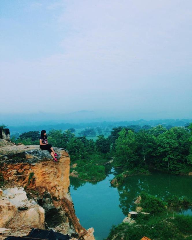 Tempat Wisata Telaga Biru Semin Gunungkidul Jogja