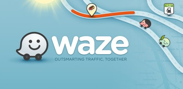 Anti-traffic with the Waze application!