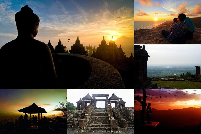 Tujuh Tempat Epik Menikmati Cahaya Di Sekitar Yogyakarta.