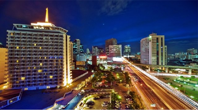 Dusit, area di Bangkok yang bergaya eropa.