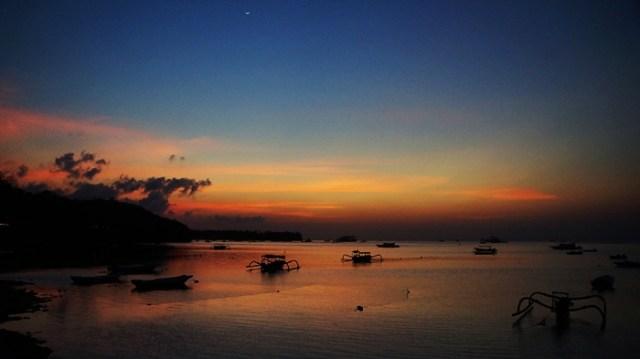 Nusa Lembongan sunset view