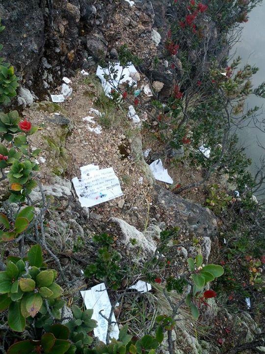 Busyet, sampahnya banyak bener, gunung apa tempat sampah ini