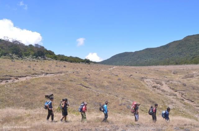 Jalur pendakian Gunung Gede (source photo)