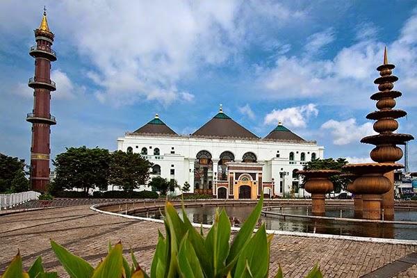 Masjid Agung Palembang (sumber)