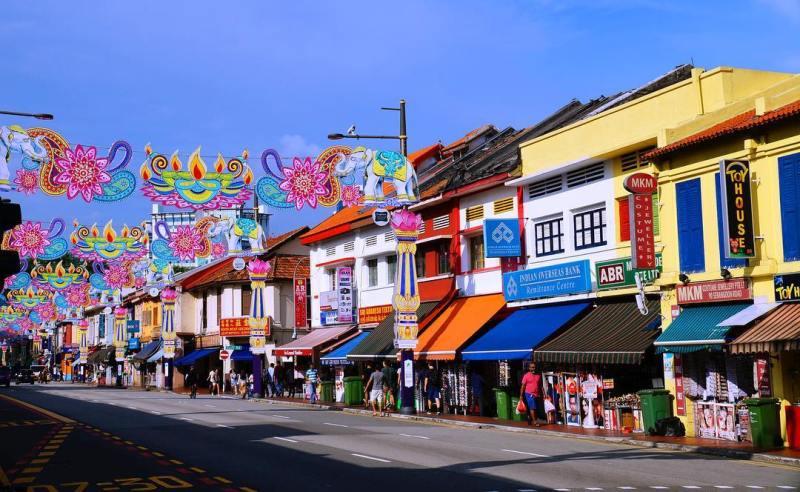 Little India adalah salah satu tempat menginap murah di Singapura via @smn.mllr