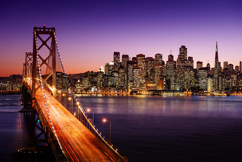 Menjelang tahun baru di San Fransisco.