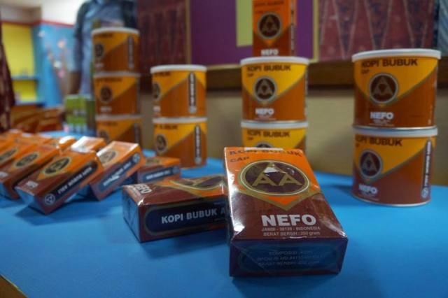 Ini adalah salah satu brand kopi yang terkenal di Jambi.