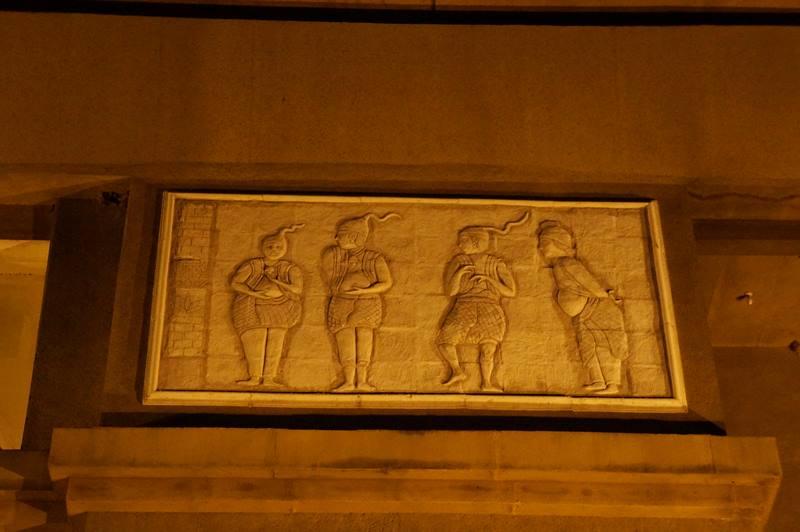 Relief dan ukiran yang ada di tiap sisi monumen (7)