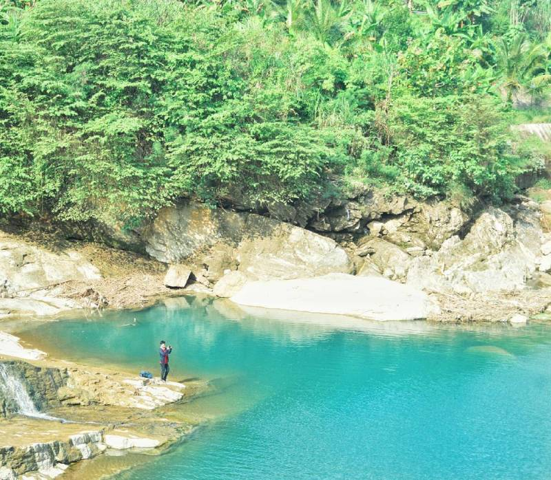 Sungai Niyama Tulungagung yang mempesona by IG @khoirjavt