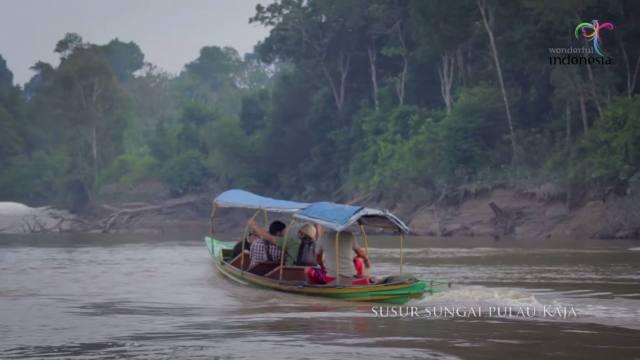 Susur sungai Pulau Kaja