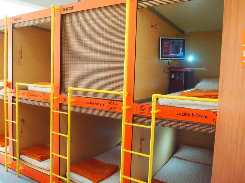 Capsule Hostel like this usually price of rent per night is quite cheap
