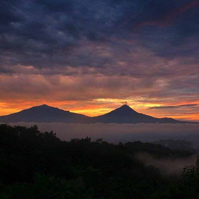 Bukit Punthuk Setumbu, Borobudur, Magelang, Jawa Tengah