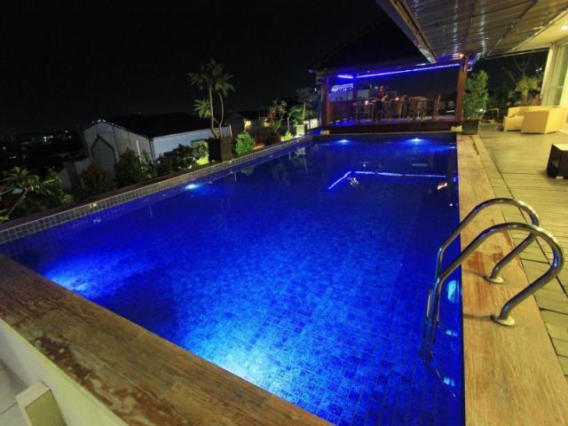 Malam hari di Dafam Fortuna Hotel, Malioboro Yogyakarta