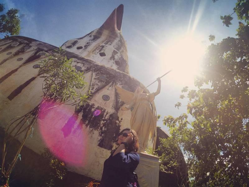 Tempat ini adalah tempat favorit untuk selfie muda mudi di Magelang by IG @reginabuldut