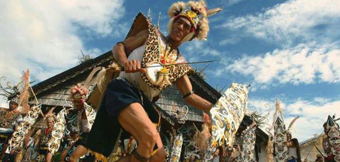 West Kalimantan (Kalimantan Barat) - Tari Dayak
