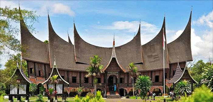 West Sumatra (Sumatera Barat) - Rumah Gadang