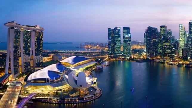 Cityview Singapura yang begitu menakjubkan