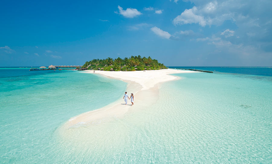 Honeymoon di Maldive siapa takut