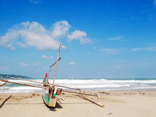 Sawarna Beach yang menghipnotis