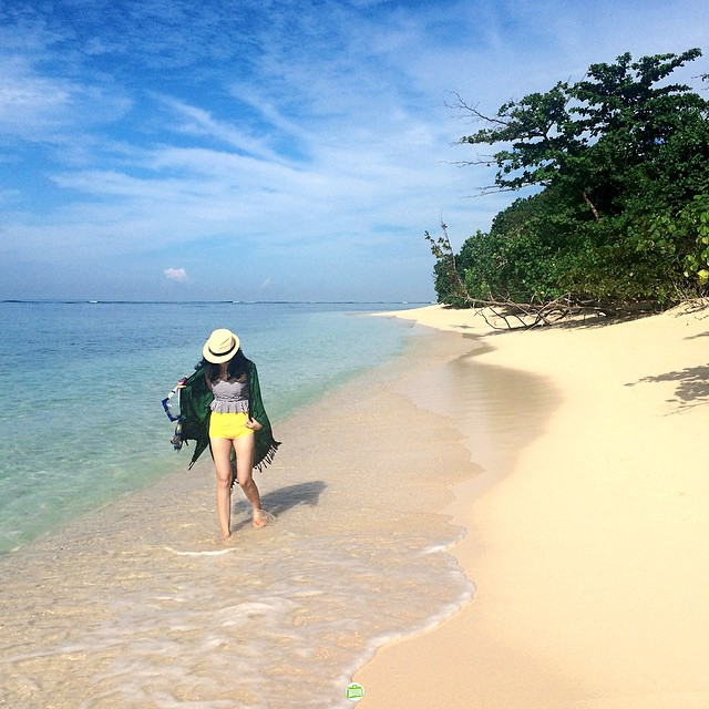 Pulau Marak begitu tenang, begitu menyenangkan