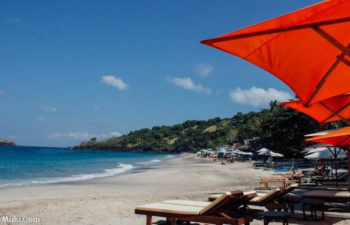 Singgah di Pantai Virgin Bali