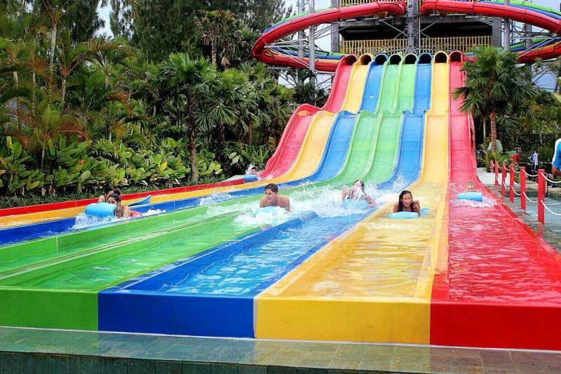 Nikmati serunya liburan bersama keluarga di waterpark terbesar di Yogyakarta ini by IG @jogjabay