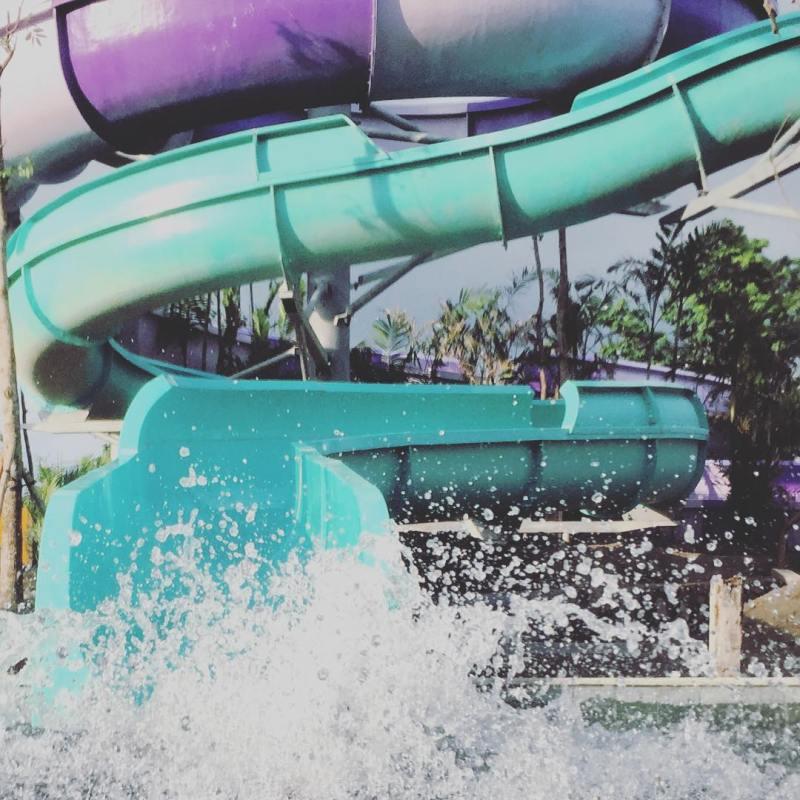 Siap bermain air di waterpark terbesar di Indonesia yang ada di Yogyakarta?