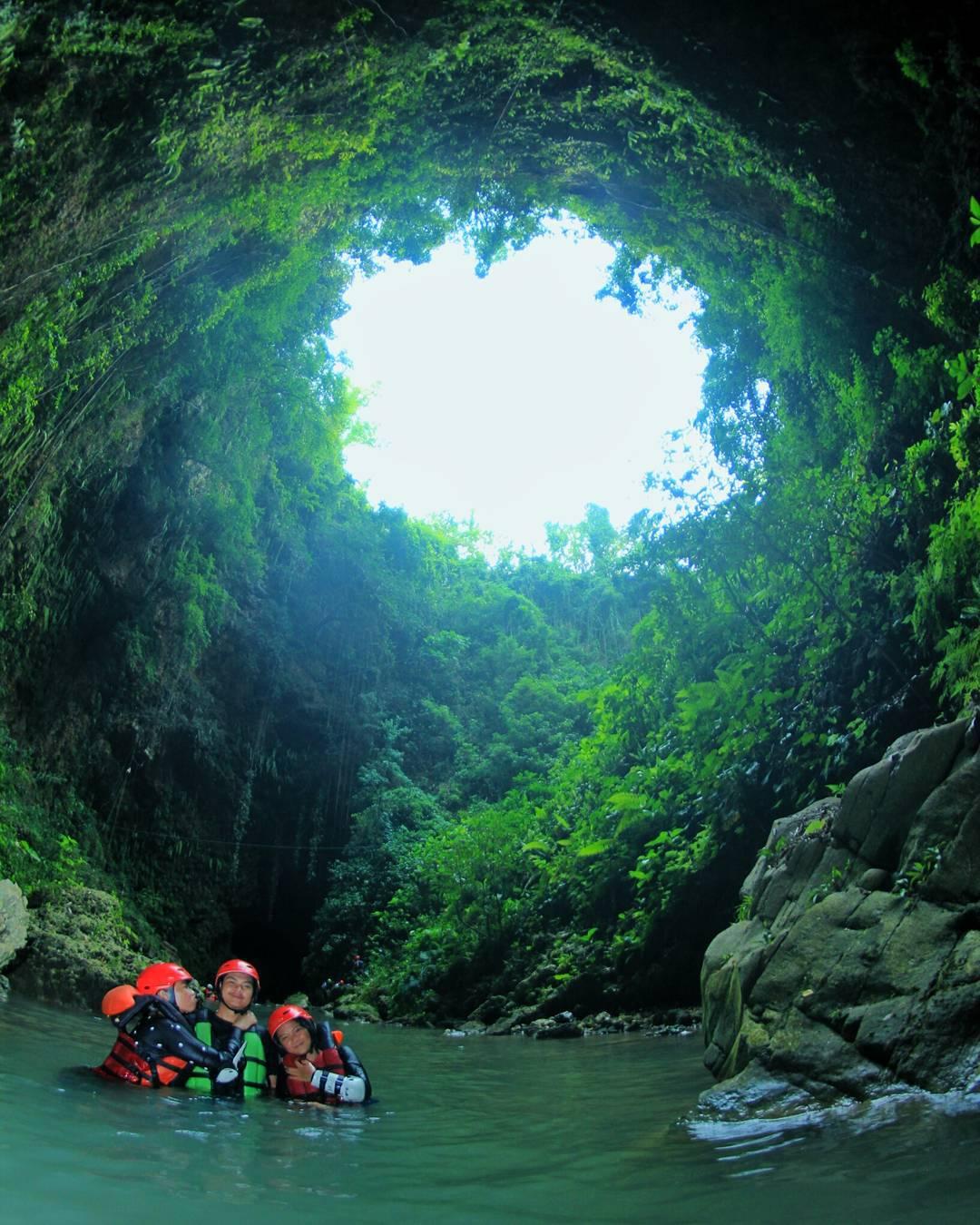 Gelung cave, salah satu keindahan di Kalisuci