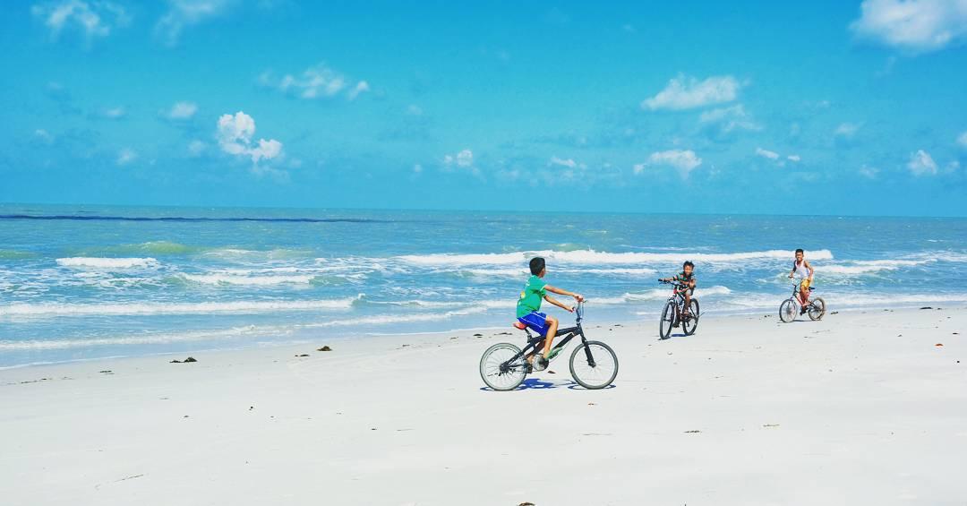 Pantai Serdang, Pantai Untuk Melihat Gerhana Matahari Total Di Belitung