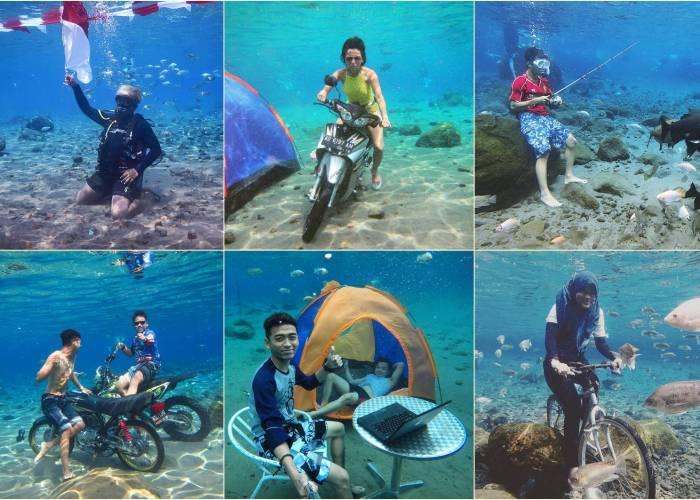 Umbul Ponggok Klaten, Rasakan Sensasi Berenang Yang Berbeda Dari Biasanya!