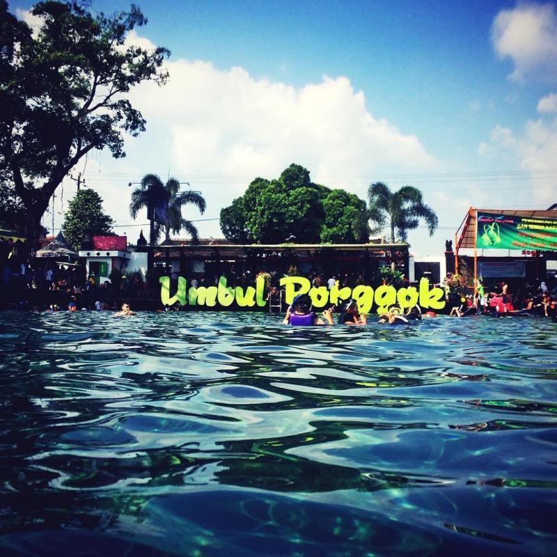 Umbul ini tempat wisata paling nge hits di klaten deh! via @dio.bramasto