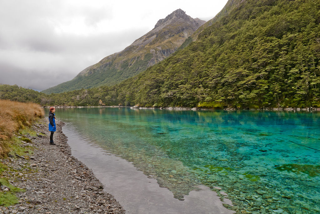 Blue Lake, New Zealand