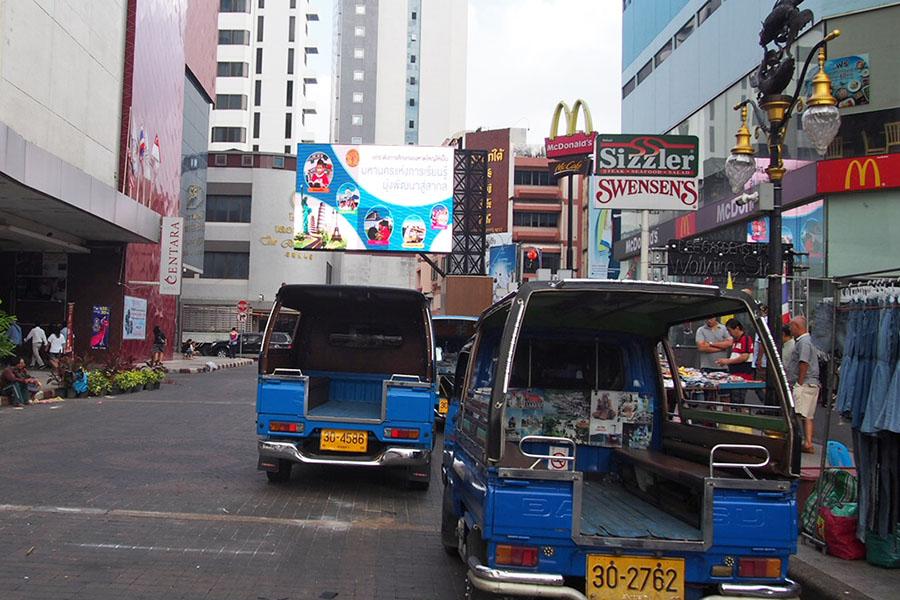 Jalan menuju kim yong market
