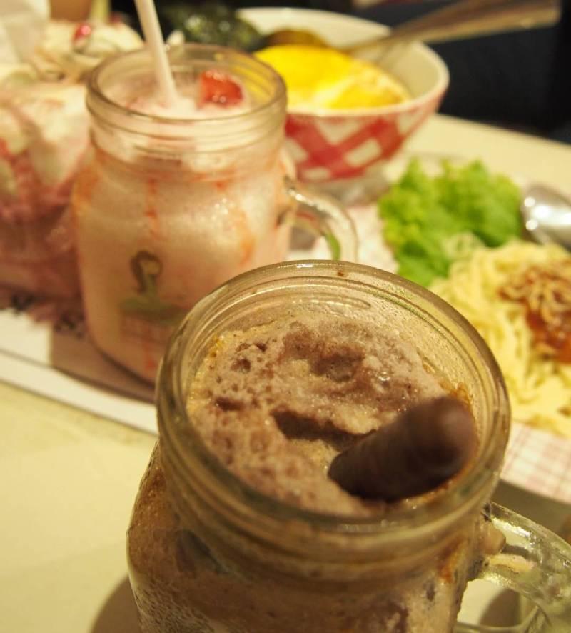 Salah satu menu di cafe ini via @ratih_meyrina