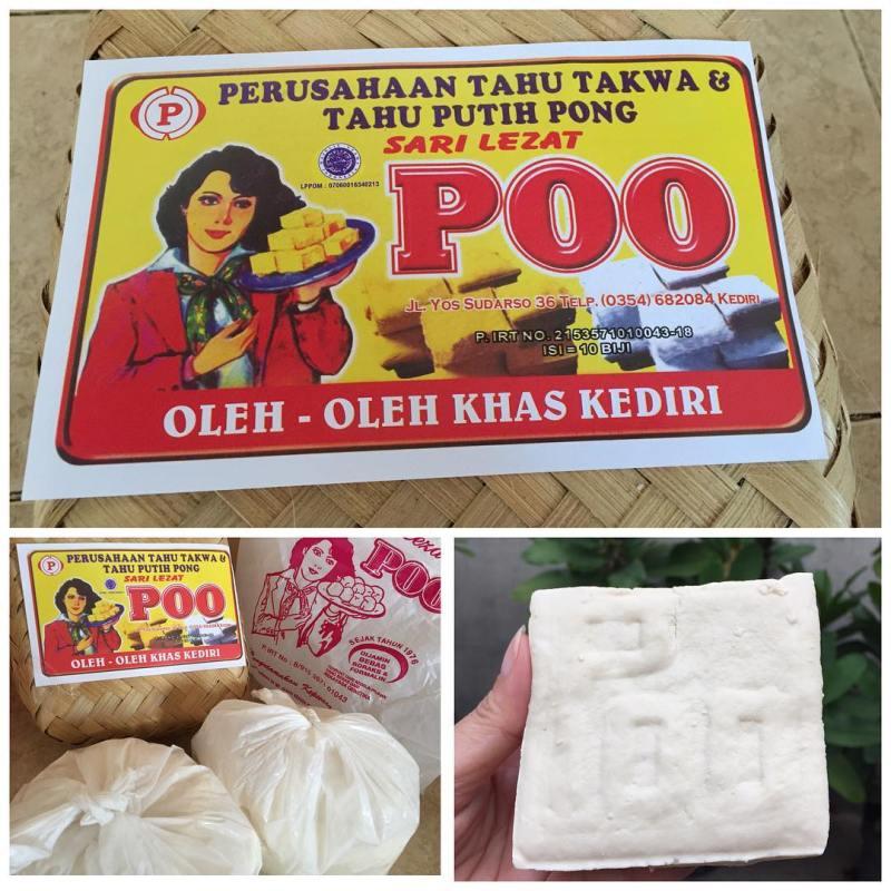 Tahu Poo, salah satu oleh-oleh Khas Kota Kediri yang nggak bisa ketinggalan buat dibeli by IG @vonnylie19