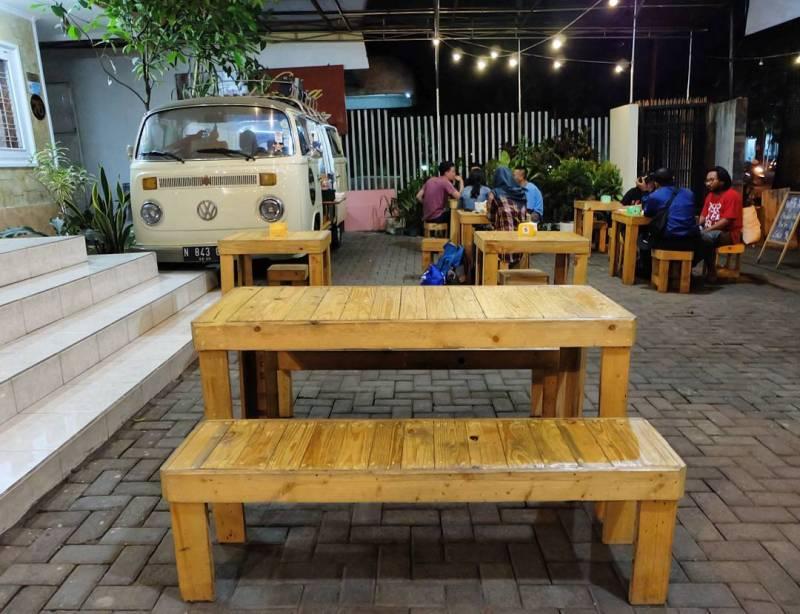 VolksWaffle Streatery ini kuliner yang cukup populer di Malang via @volkswaffle_mlg